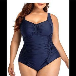 🆕Plus Size Tummy Control One Piece Swimsuits